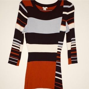 Bar III ribbed dress
